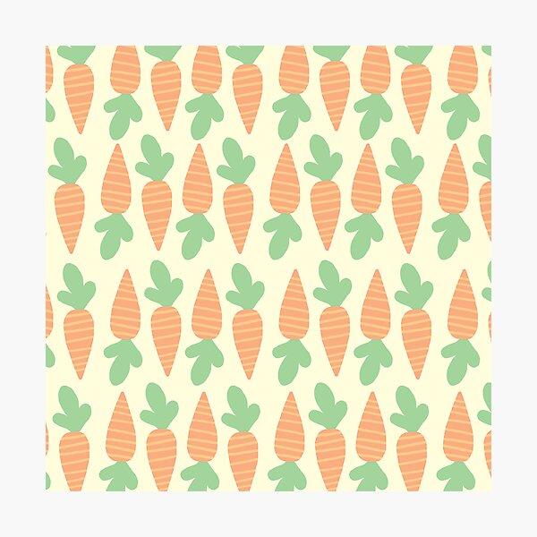 Cute Carrots Photographic Print