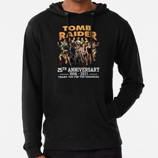 Thank You for The Memories 25th Anniversary 1996 2021 Tomb Raider T-Shirts Gift For Fans, For Men and Women, Gift Mother Day, Father Day Lightweight Hoodie