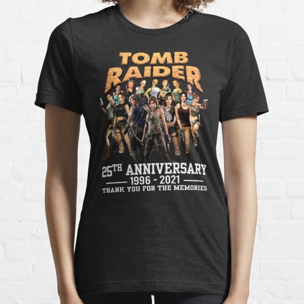 Thank You for The Memories 25th Anniversary 1996 2021 Tomb Raider T-Shirts Gift For Fans, For Men and Women, Gift Mother Day, Father Day Essential T-Shirt