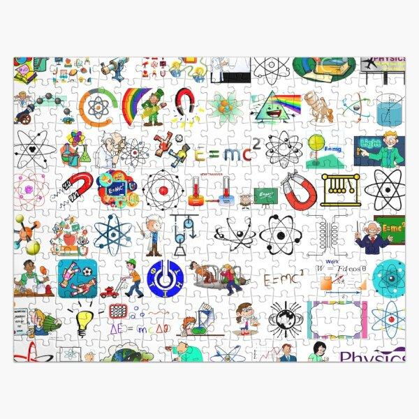 Physics, Laptop Skin, #Physics, #Laptop, #Skin, #LaptopSkin, #Skins, #LaptopSkins Jigsaw Puzzle