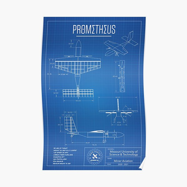 MAV Prometheus Poster 2021 Poster