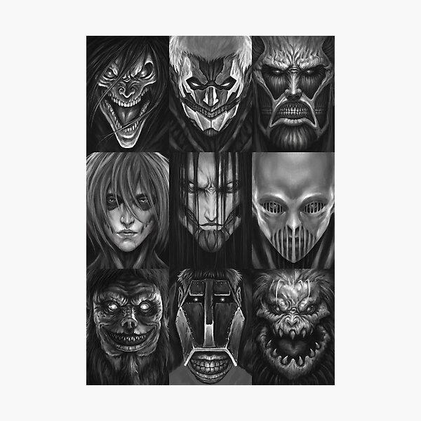 All Titan: Attack on Titan Photographic Print