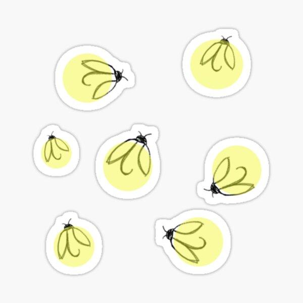 Fireflies, lightning bugs Sticker