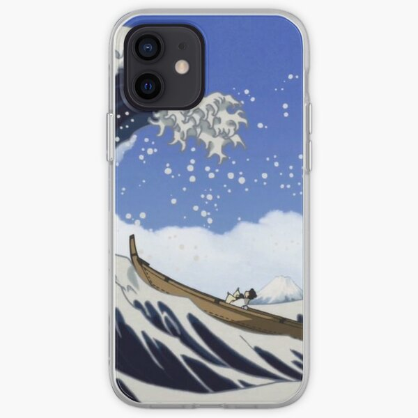 vague de takashi murakami Coque souple iPhone