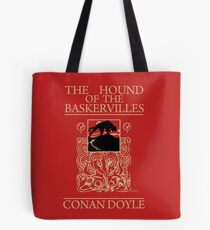 Hound of the Baskervilles Book Cover Tote Bag