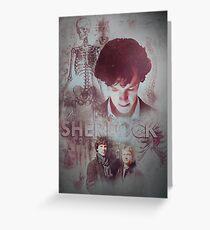 BBC Sherlock IPhone Case Greeting Card
