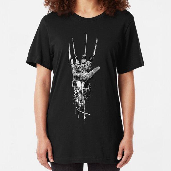 Freddy Krueger | Steampunk Claw Slim Fit T-Shirt