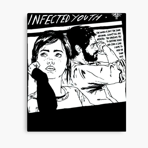 Infected Youth  Canvas Print