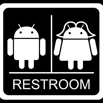 Droid Restroom by peabody00
