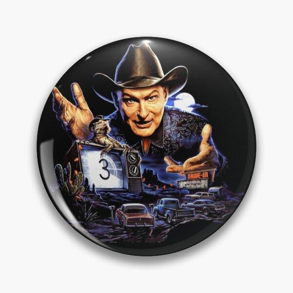 Joe Bob Briggs Horror Host Icon  Pin