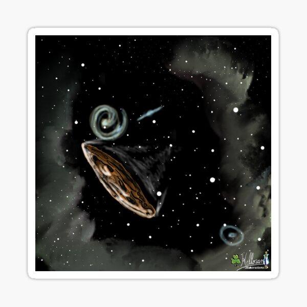 Lonely Interplanetary Traveler  Sticker