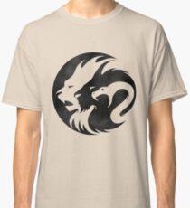 Black & White Lion Classic T-Shirt