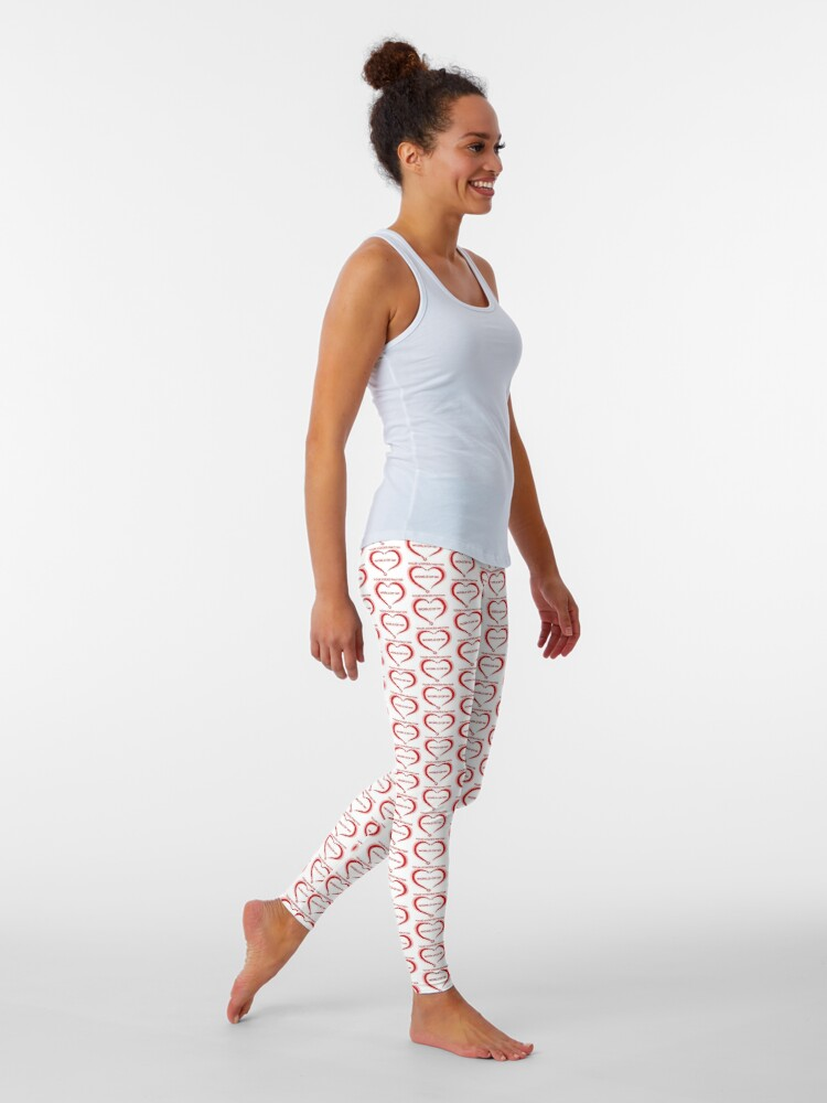 Alternate view of World Of NP Your Voices Matter Leggings
