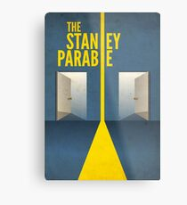 The Stanley Parable Metal Print