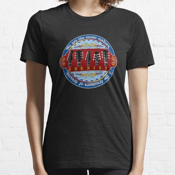 Guitar Coexist Essential T-Shirt