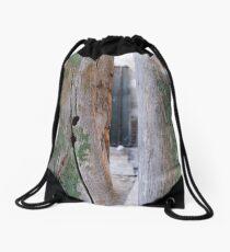 Cyprus Doors Drawstring Bag