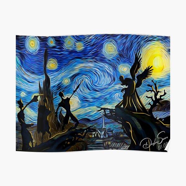 V4n Gogh Harry P0tt3r Poster