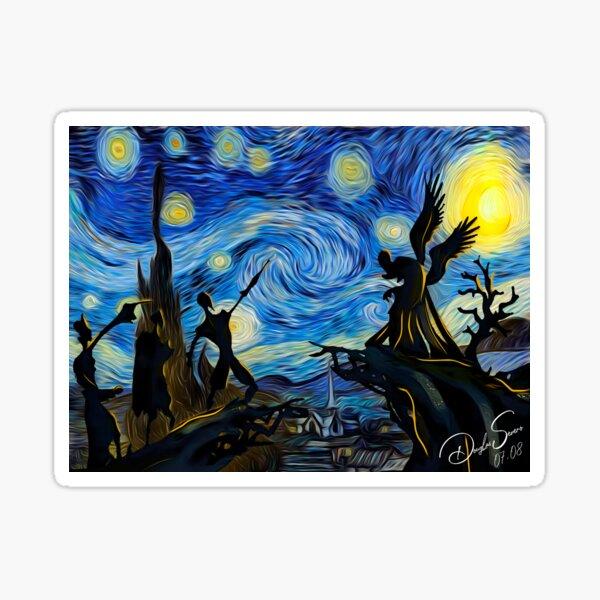 V4n Gogh Harry P0tt3r Sticker