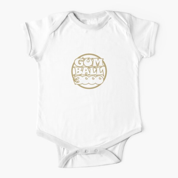 Gumball 3000 Short Sleeve Baby One-Piece