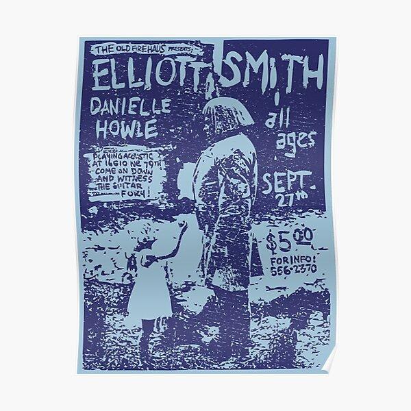 /Elliott Smith Live Poster