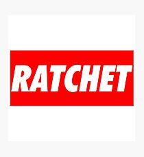 Ratchet Photographic Print