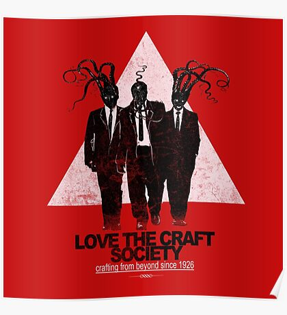 love the craft Poster
