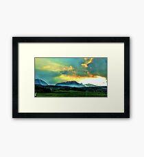 Sunsets Framed Print