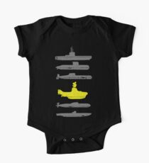 Know Your Submarines One Piece - Short Sleeve