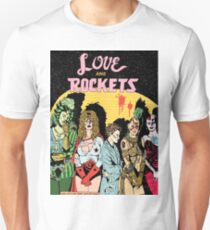Love and Rockets hero's and villians Unisex T-Shirt