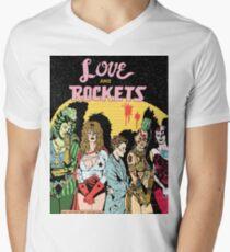 Love and Rockets hero's and villians Men's V-Neck T-Shirt