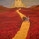 Yellow Brick road by Dawn  Hawkins