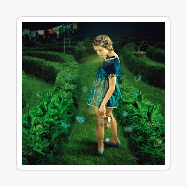 Green Labyrinth # 3 Sticker