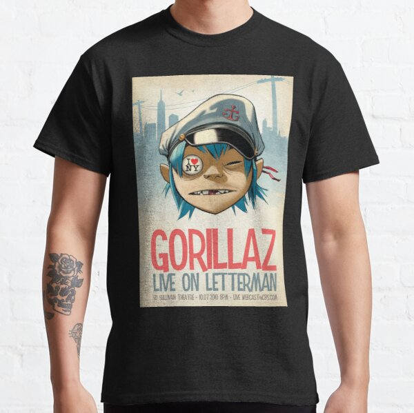 Gorilaz - Live on Letterman Classic T-Shirt