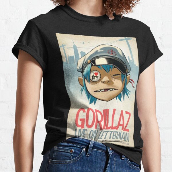 Gorilaz - Live on Letterman Camiseta clásica