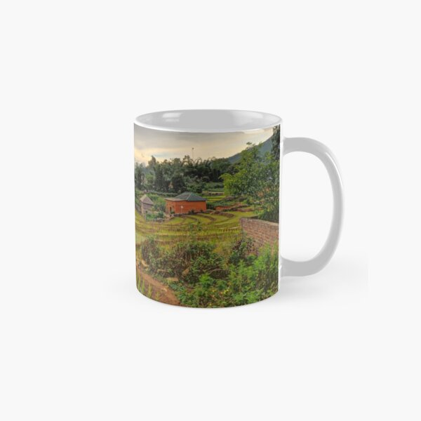 The Rice Terraces of Y Ty Classic Mug