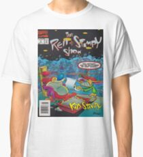 Ren and Stimpy boxing comic Classic T-Shirt