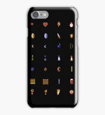 Zelda - The Items Without Text iPhone Case/Skin
