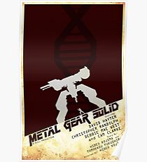 MGS Poster Poster
