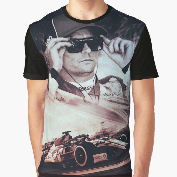 Kimi raikkonen T-shirt graphique