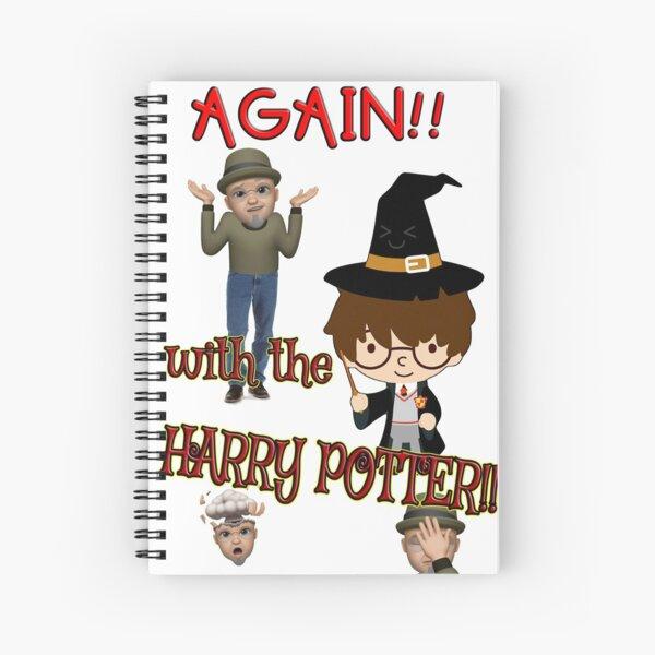 AGAIN! Spiral Notebook