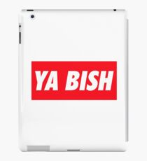 Ya Bish Typography iPad Case/Skin