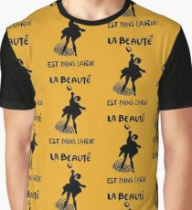 Beauty Is in the Street (black) Graphic T-Shirt