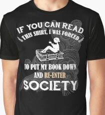 BOOK - SOCIETY Graphic T-Shirt