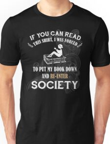 BOOK - SOCIETY Unisex T-Shirt