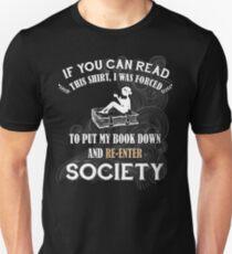 BOOK - SOCIETY T-Shirt