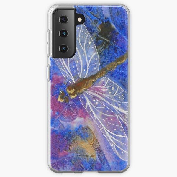 Dragonfly Watercolour Samsung Galaxy Soft Case