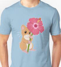 Hamster Hibiscus T-Shirt