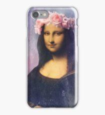Mona Lisa Flower Crown iPhone Case/Skin