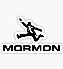 MORMON (black) - LDStreetwear Sticker