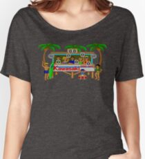 CALIFORNIA GAMES - SURF FAIL - MASTER SYSTEM Women's Relaxed Fit T-Shirt